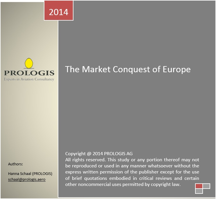 The Market Conquest of Europe – A Growth Analysis of Ryanair, easyjet, Vueling Airlines and Norwegian Air Shuttle