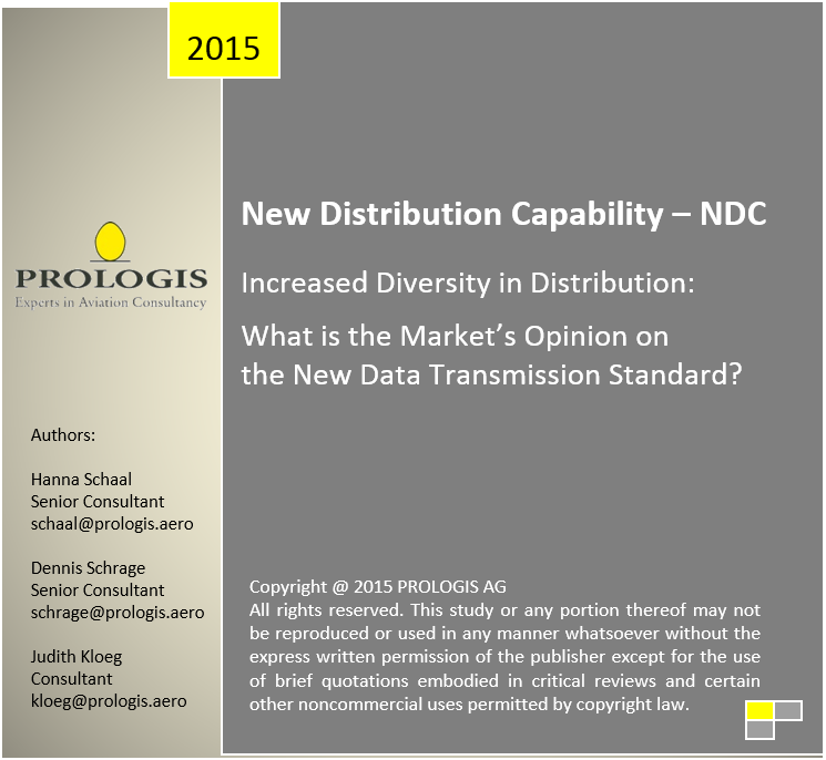 NDC – Increased Diversity in Distribution: What is the Market's Opinion on the New Data Transmission Standard?