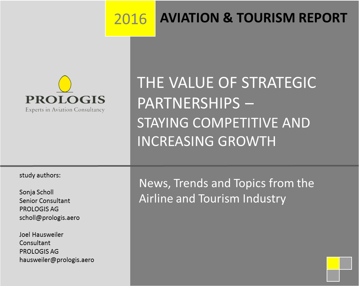 The Value of Strategic Partnerships for European Airlines – Staying Competitive and Increasing Growth