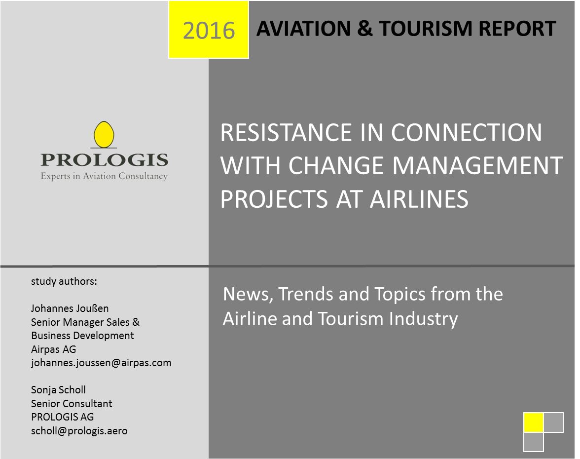 Resistance in Connection with Change Management Projects at Airlines