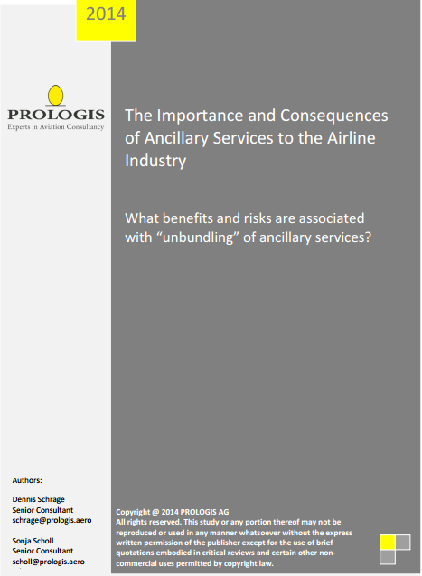The Importance and Consequences of Ancillary Services to the Airline Industry