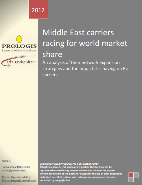 Middle East Carriers racing for world market share