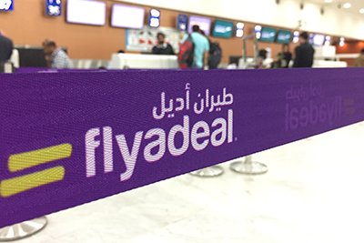 Saudi start-up flyadeal go-live